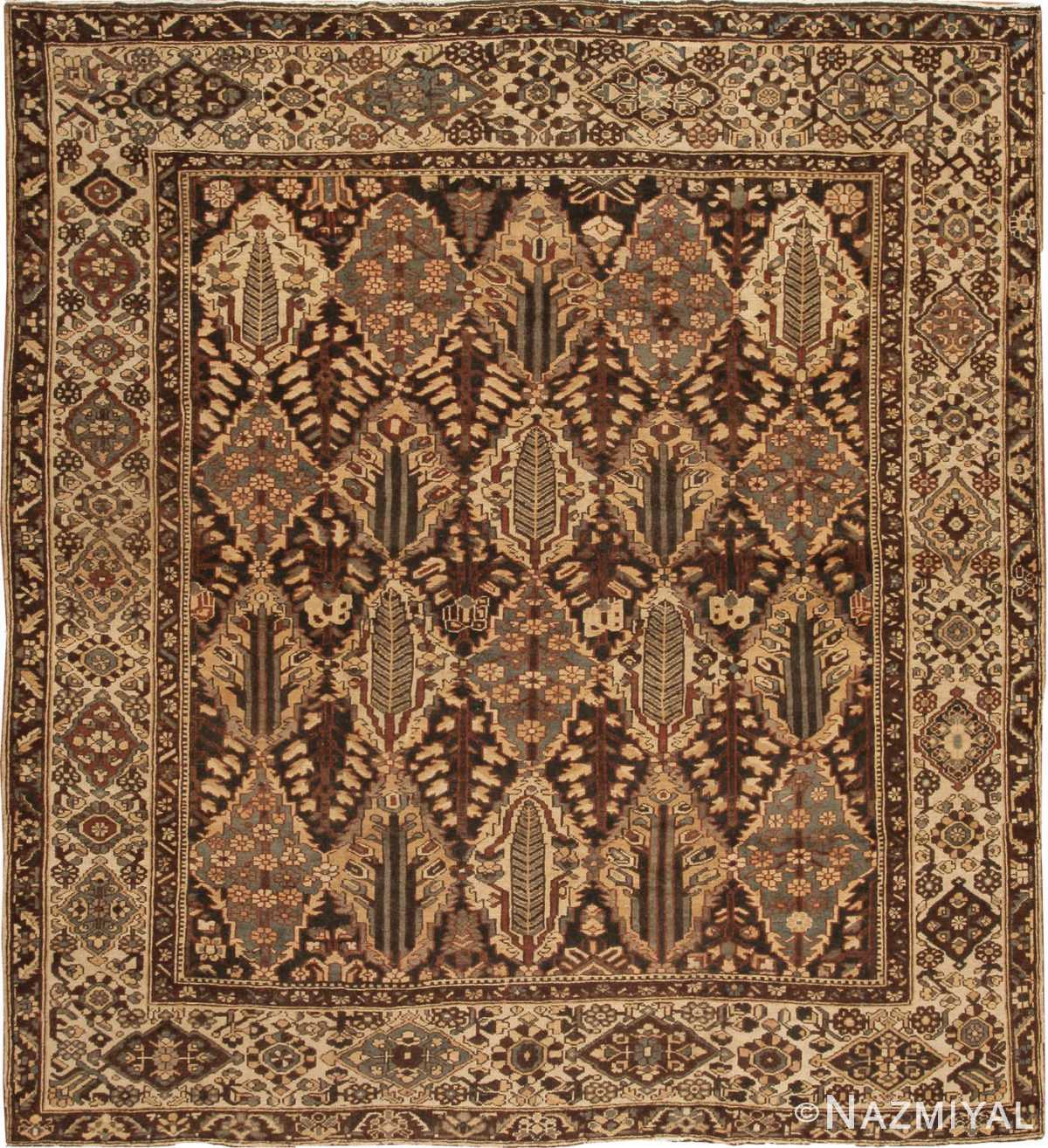 Vintage Persian Rugs: Bakhtiari Rug 42930 By The Nazmiyal Collection In New York