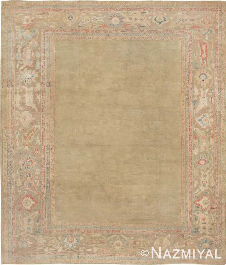 Antique Sultanabad Persian Carpet 43034 Nazmiyal