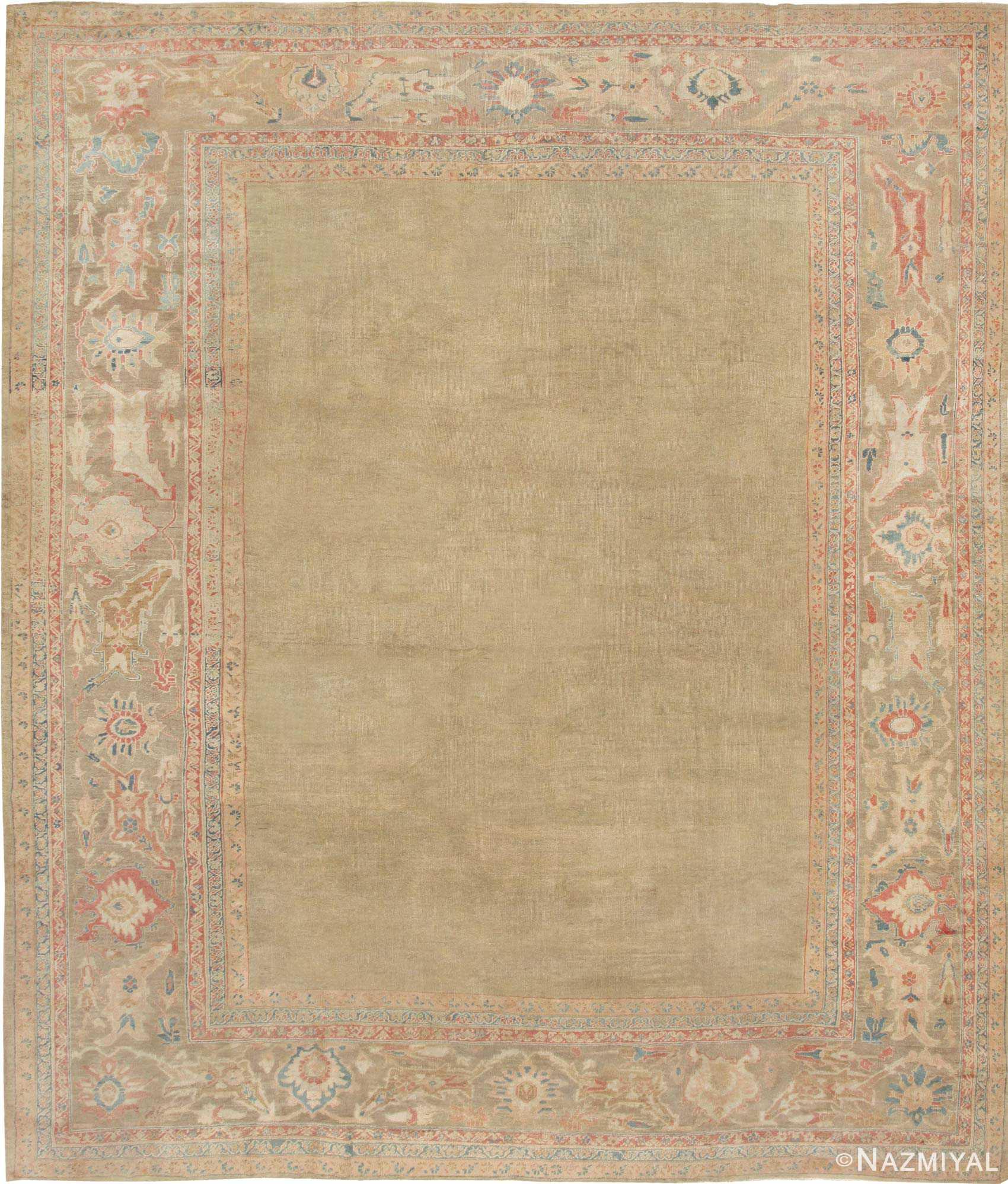Antique Sultanabad Persian Carpet 43034 Nazmiyal