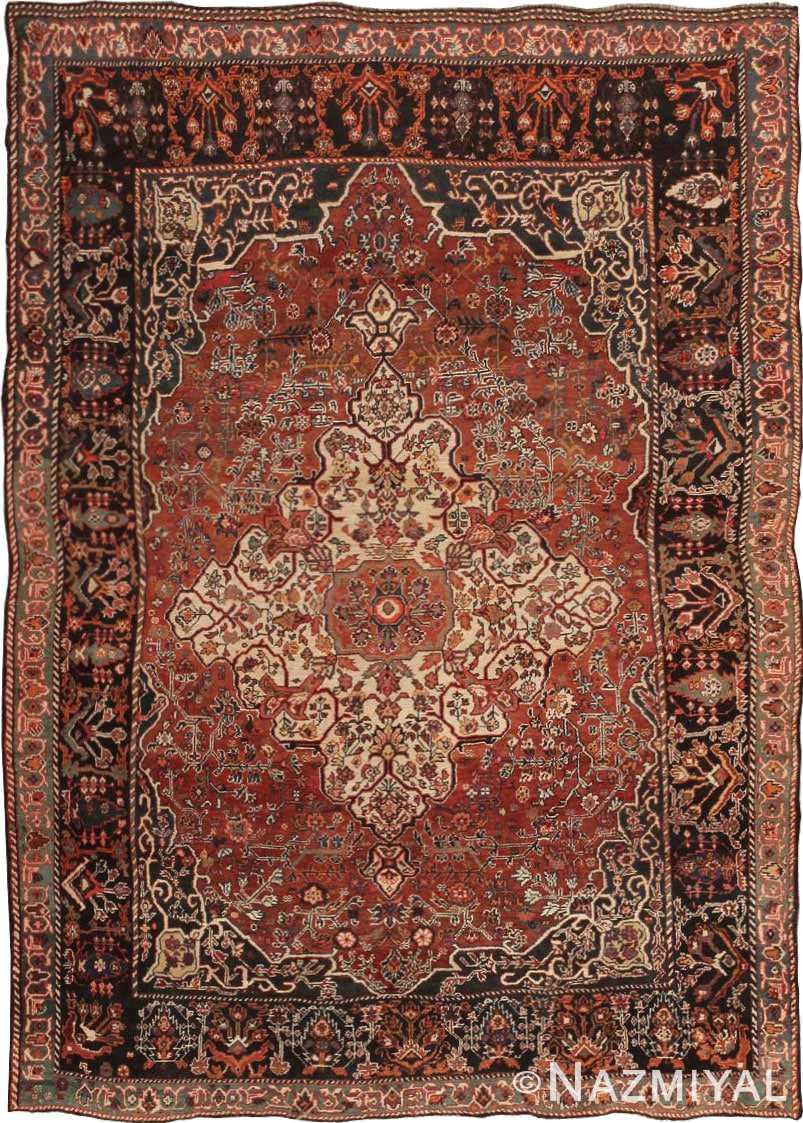 Antique Gashgai / Qashqai Persian Rug 43768