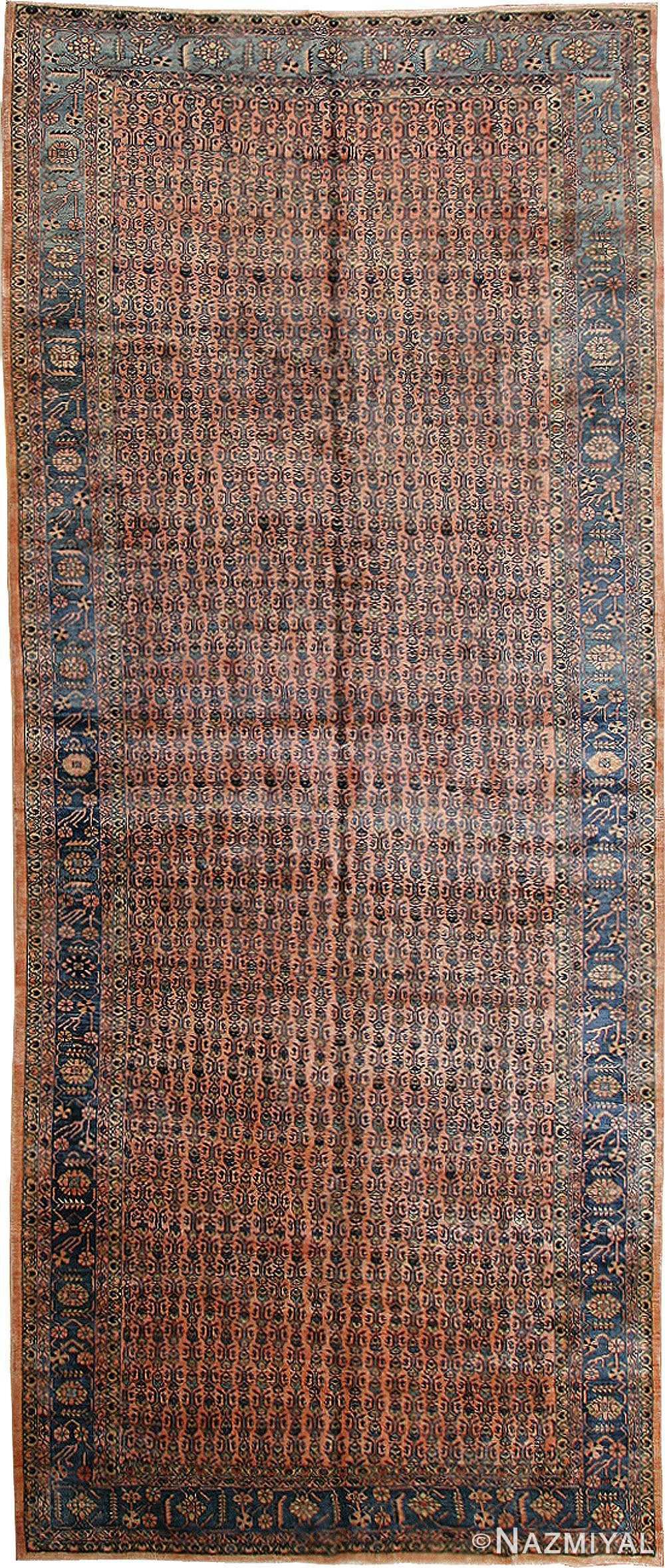 Antique Persian Sarouk Rug 43774 Nazmiyal Collection
