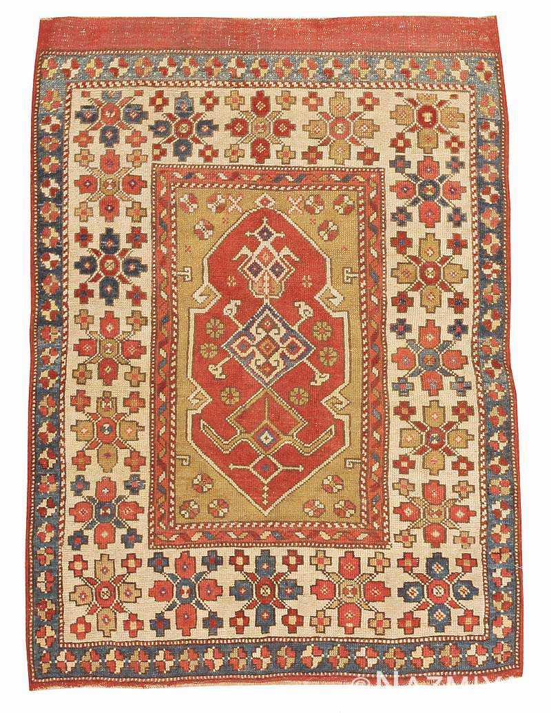 Antique Turkish Bergama Antique Rug 44443 Nazmiyal