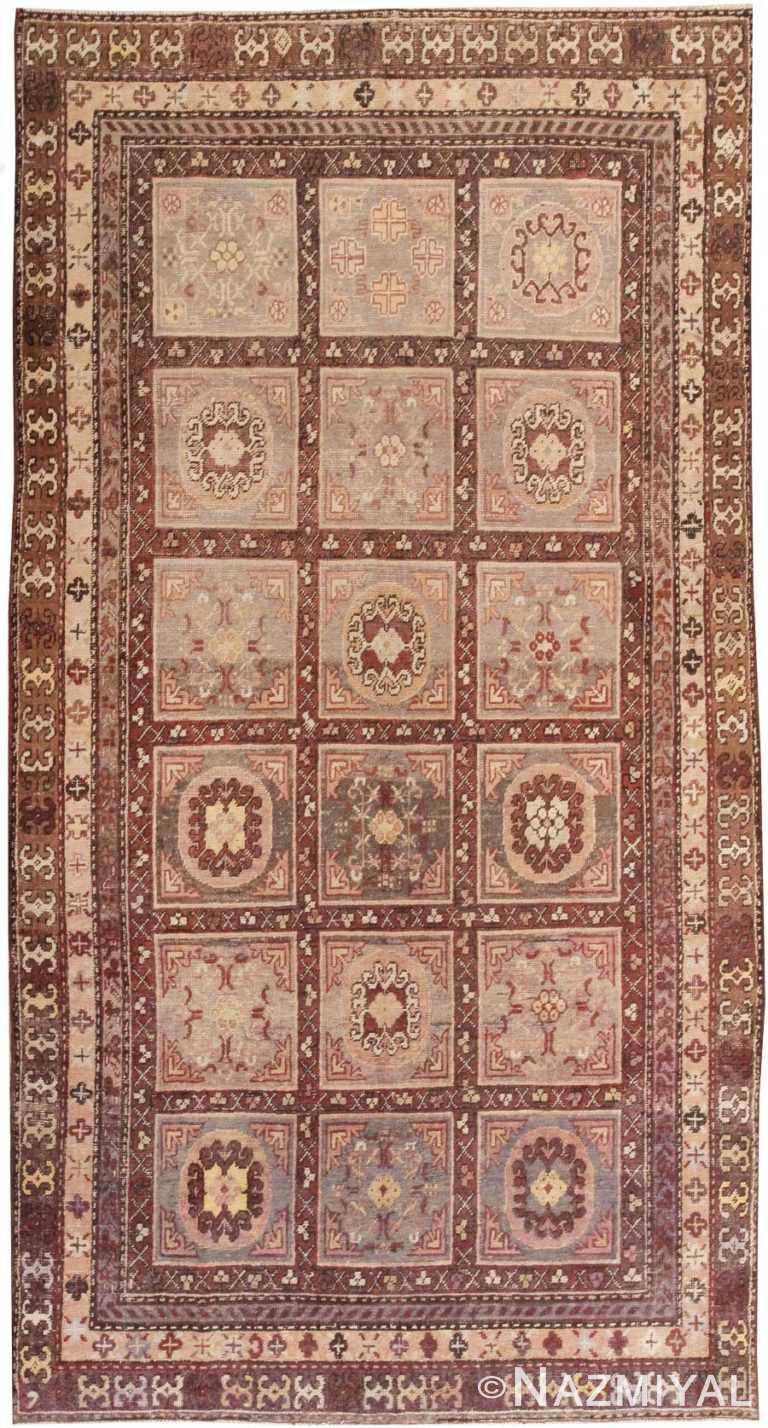 Antique Khotan Oriental Rug 44543 Nazmiyal