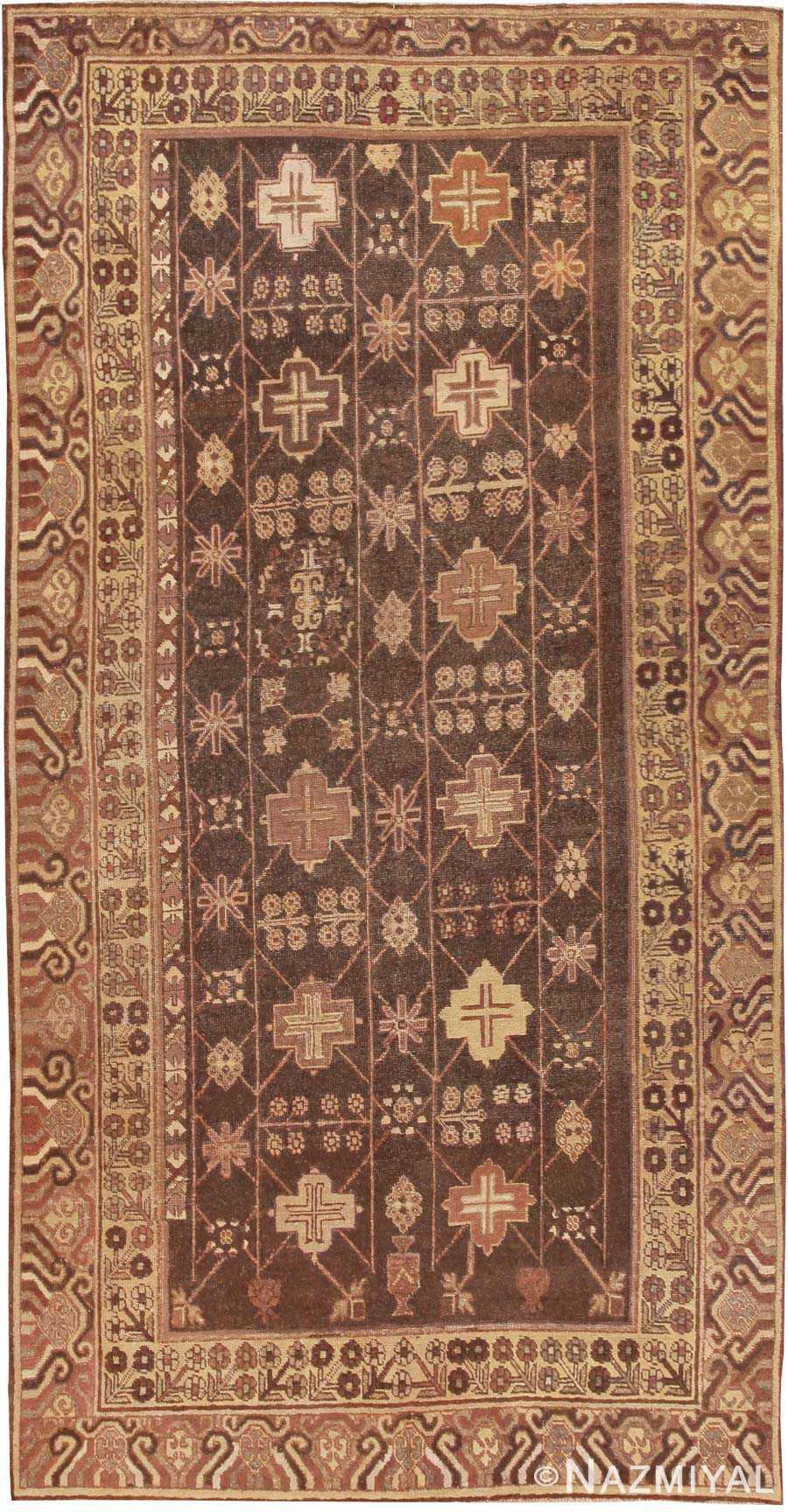Antique Khotan Oriental Rug 44546 Nazmiyal