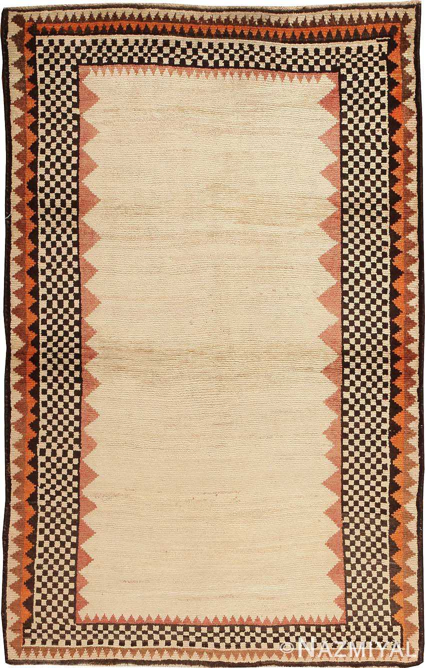 Vintage Persian Gabbeh Rug 44579