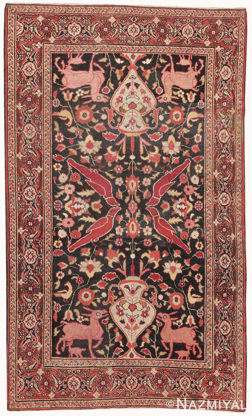 Antique Khorassan Persian Rug 44612 Nazmiyal