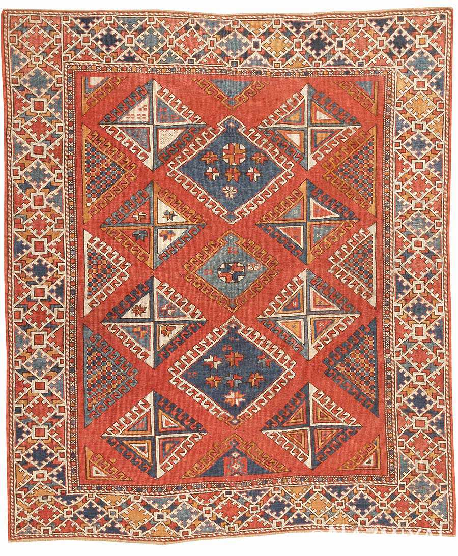 Bergama Antique Rug 44627 Nazmiyal