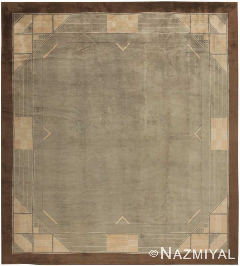 Art Deco French Rug 44805 Nazmiyal Antique Rugs