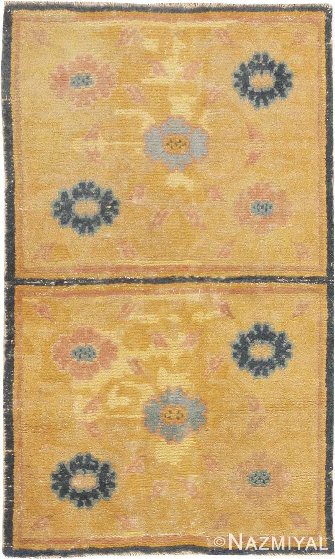 Antique Chinese Oriental Carpet 44823 Nazmiyal