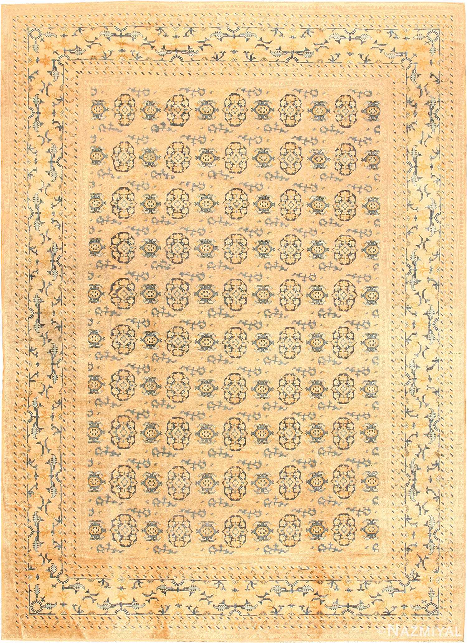 Antique Khotan Oriental Carpet 538 Nazmiyal