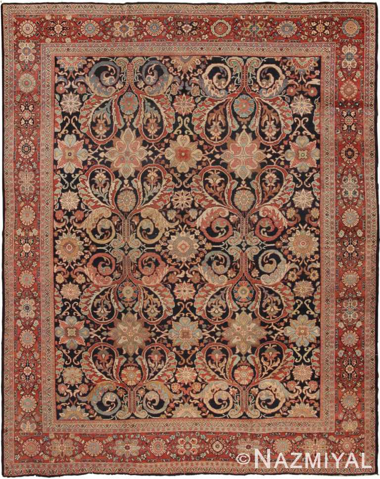 Antique Sultanabad Persian Rugs 7997 Nazmiyal
