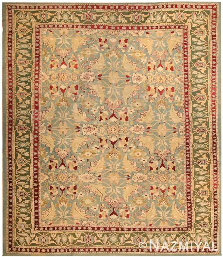 Antique Agra Oriental Rugs 43611 Nazmiyal