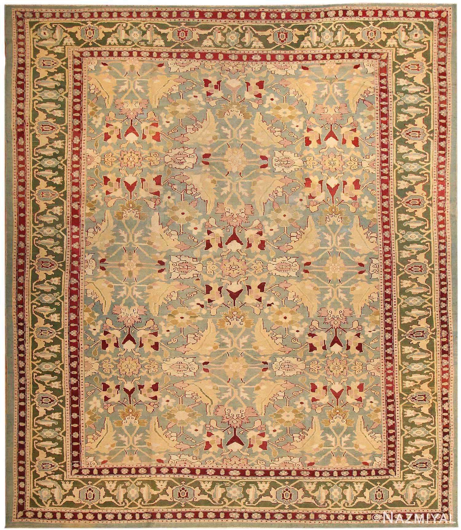 Antique Agra Oriental Rugs 43611 Nazmiyal