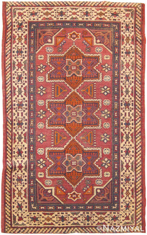 Antique Bezalel Rug 41553 Nazmiyal