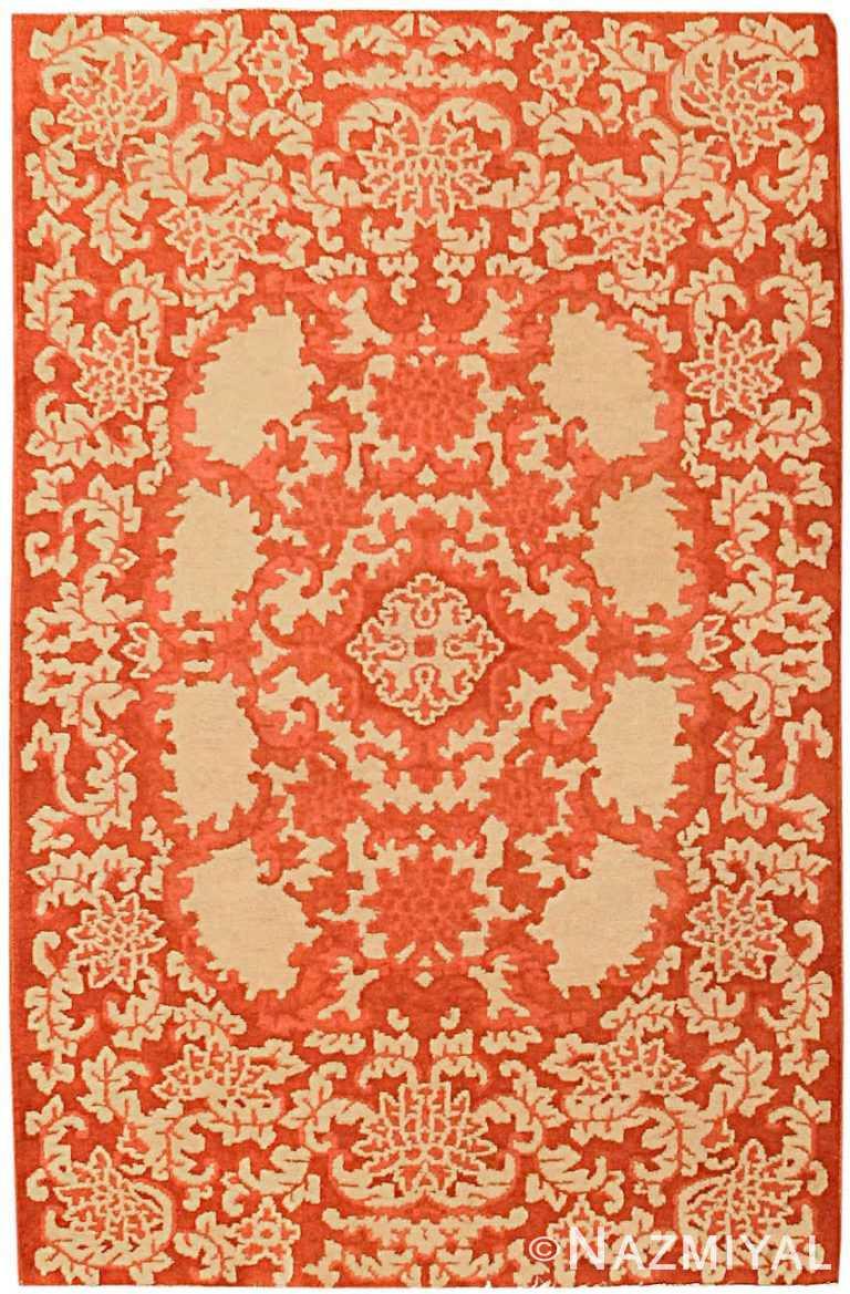 Antique Chinese Oriental Carpet 2608 Nazmiyal