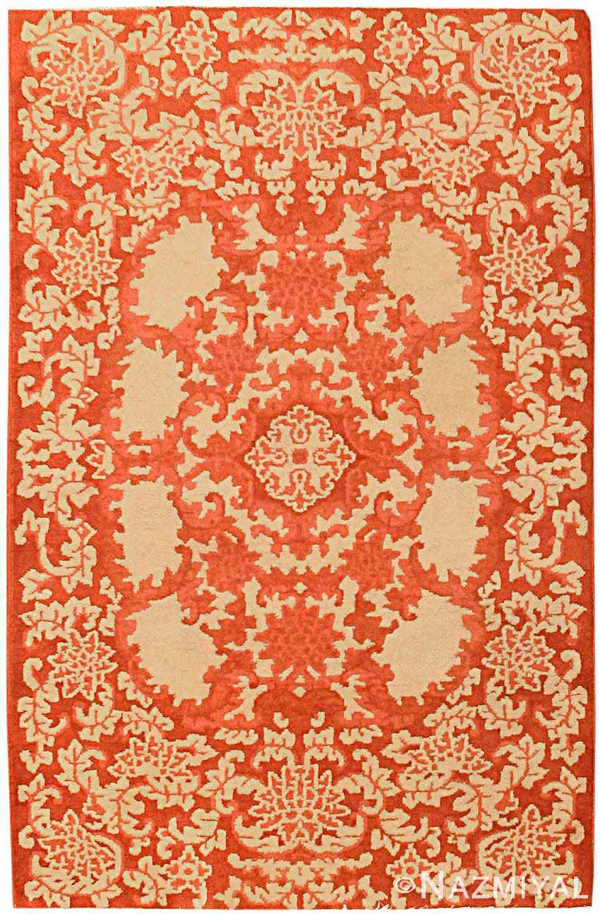 Antique Chinese Oriental Carpet 2608