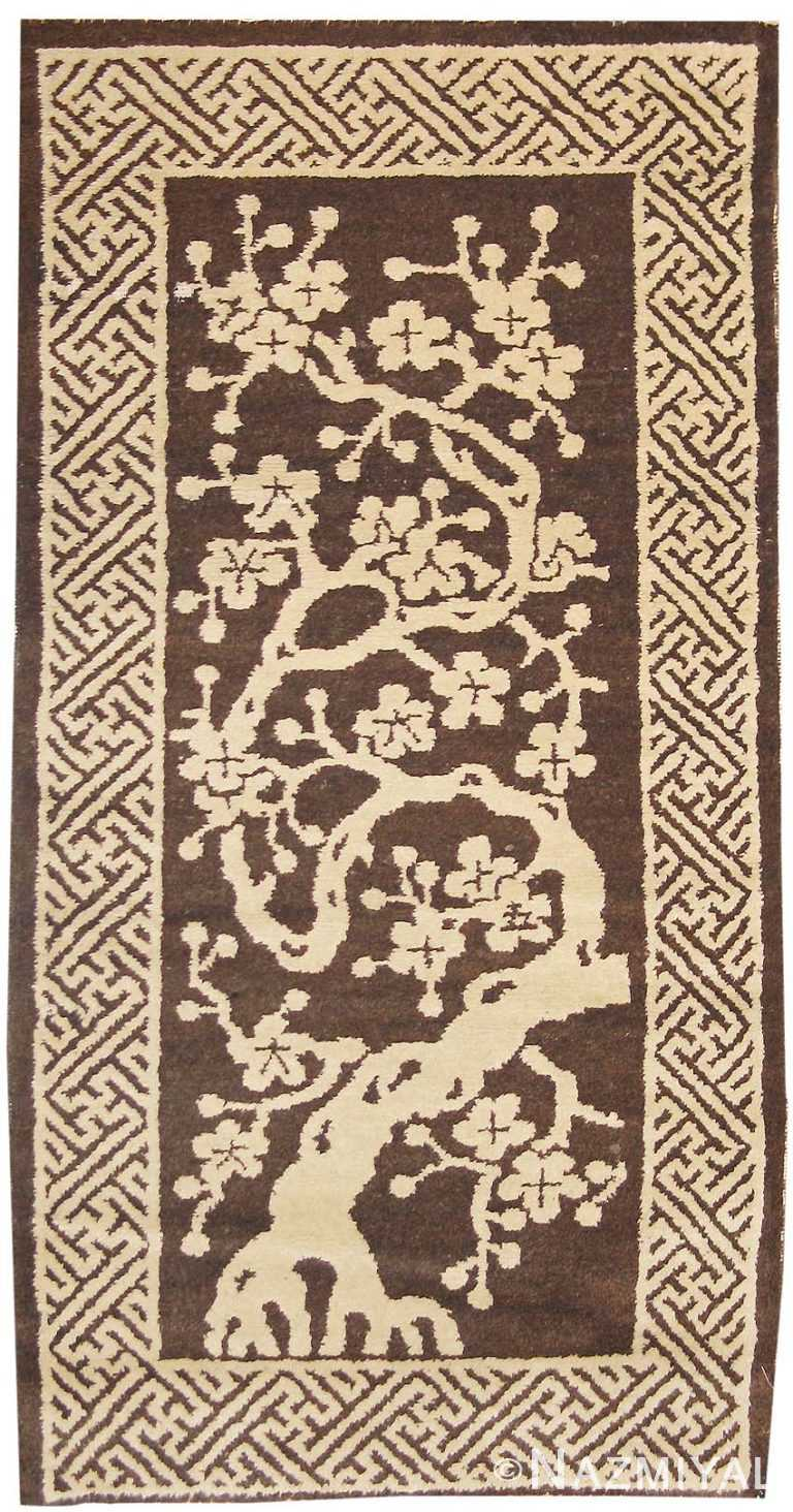 Antique Chinese Oriental Carpet 1619 Nazmiyal