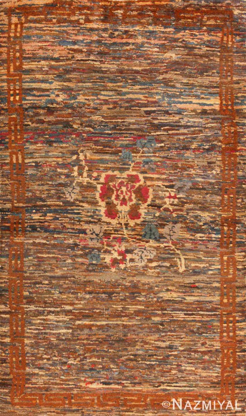 Antique Chinese Oriental Carpet 2859 Nazmiyal