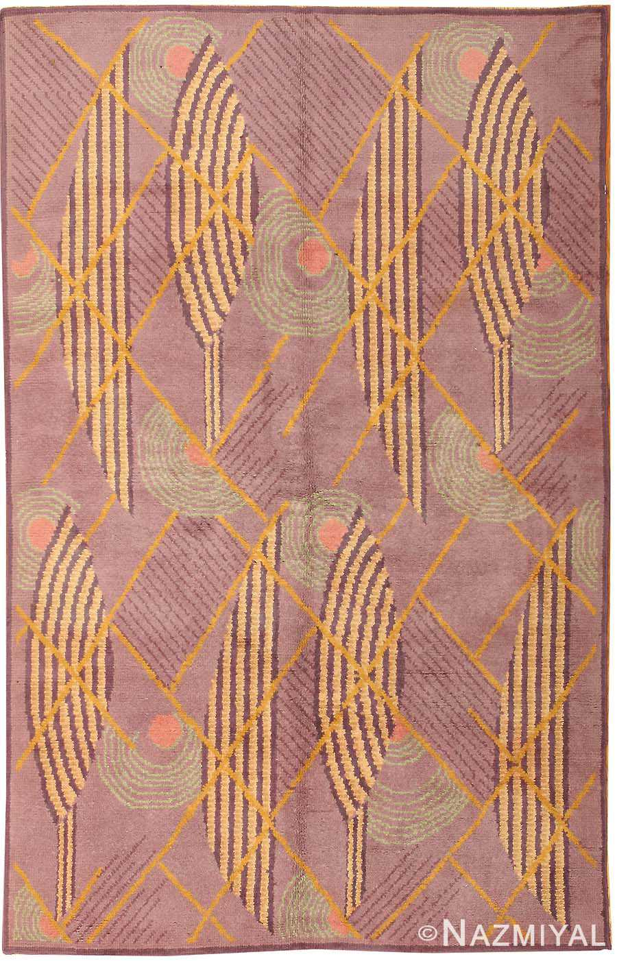 Fabulous French Art Deco Rug | Art Deco Rugs | Art Deco French Rug 40750 MD75