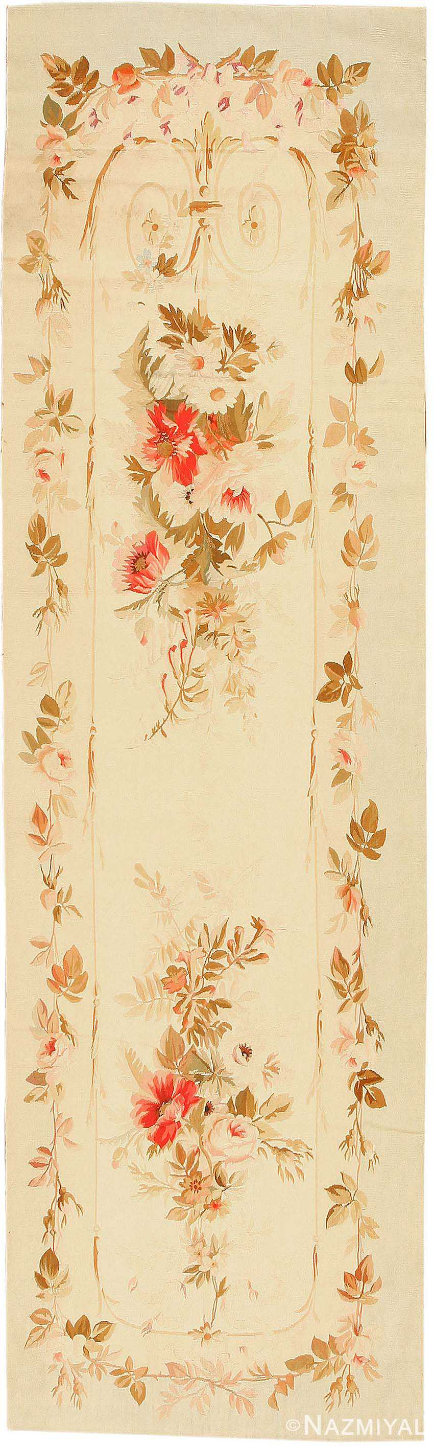 Antique French Tapestry Rug 2854 Nazmiyal