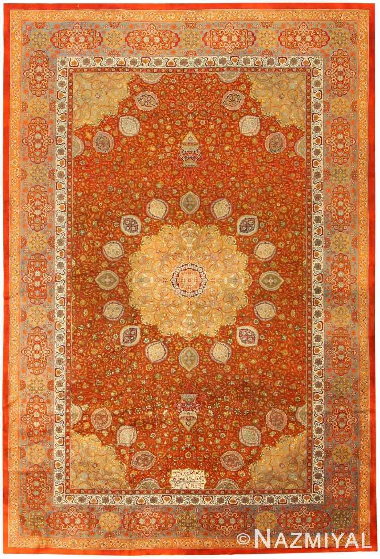 Antique Amritsar Oriental Rug 42157 Nazmiyal