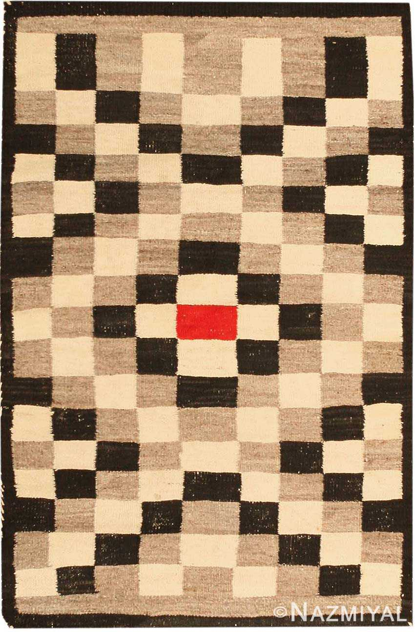 Antique Navajo American Rug 2452 Detail Large View