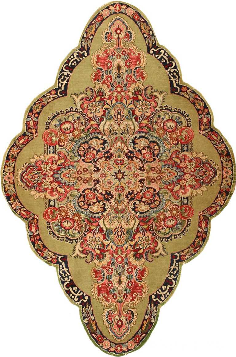 Antique Sarouk Farahan Persian Rug 43268 Nazmiyal
