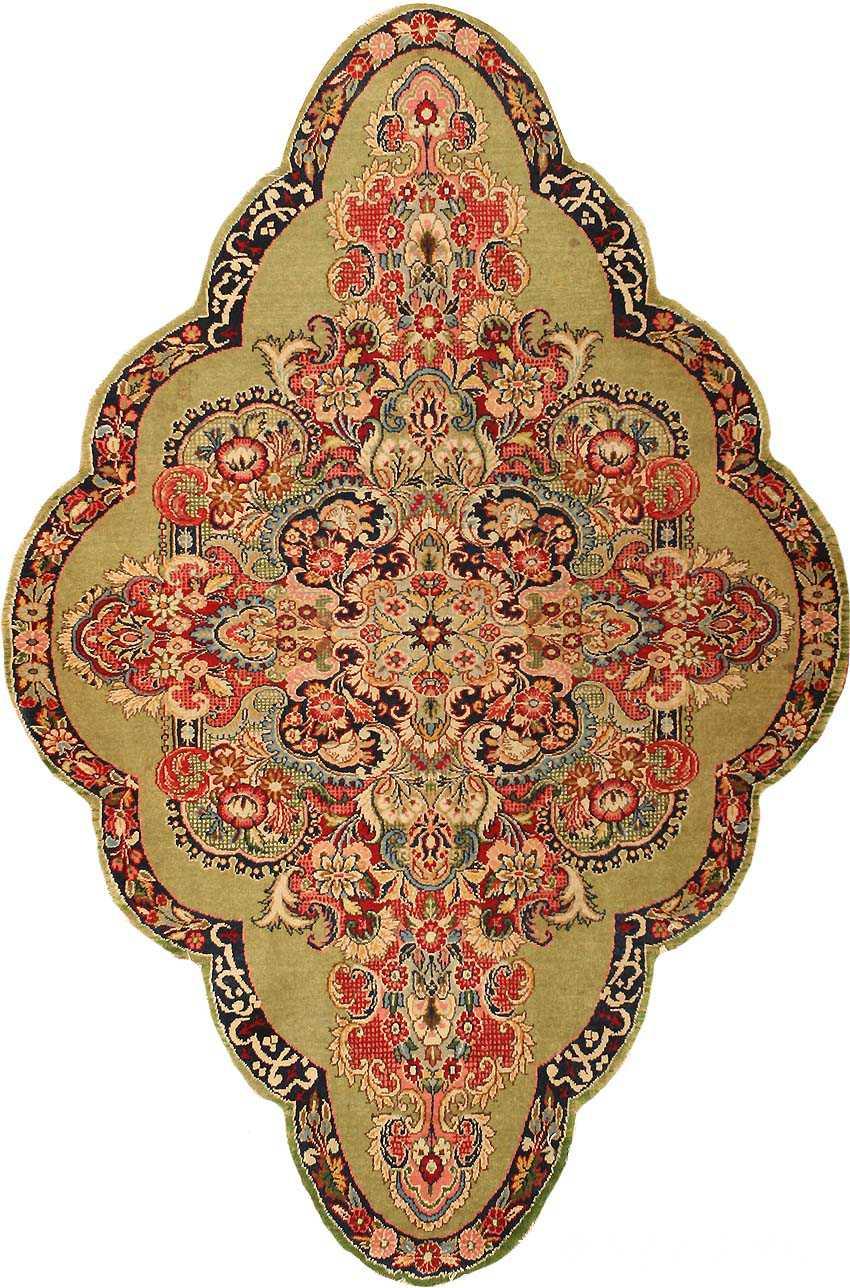 Antique Sarouk Farahan Persian Rug 43268 Nazmiyal