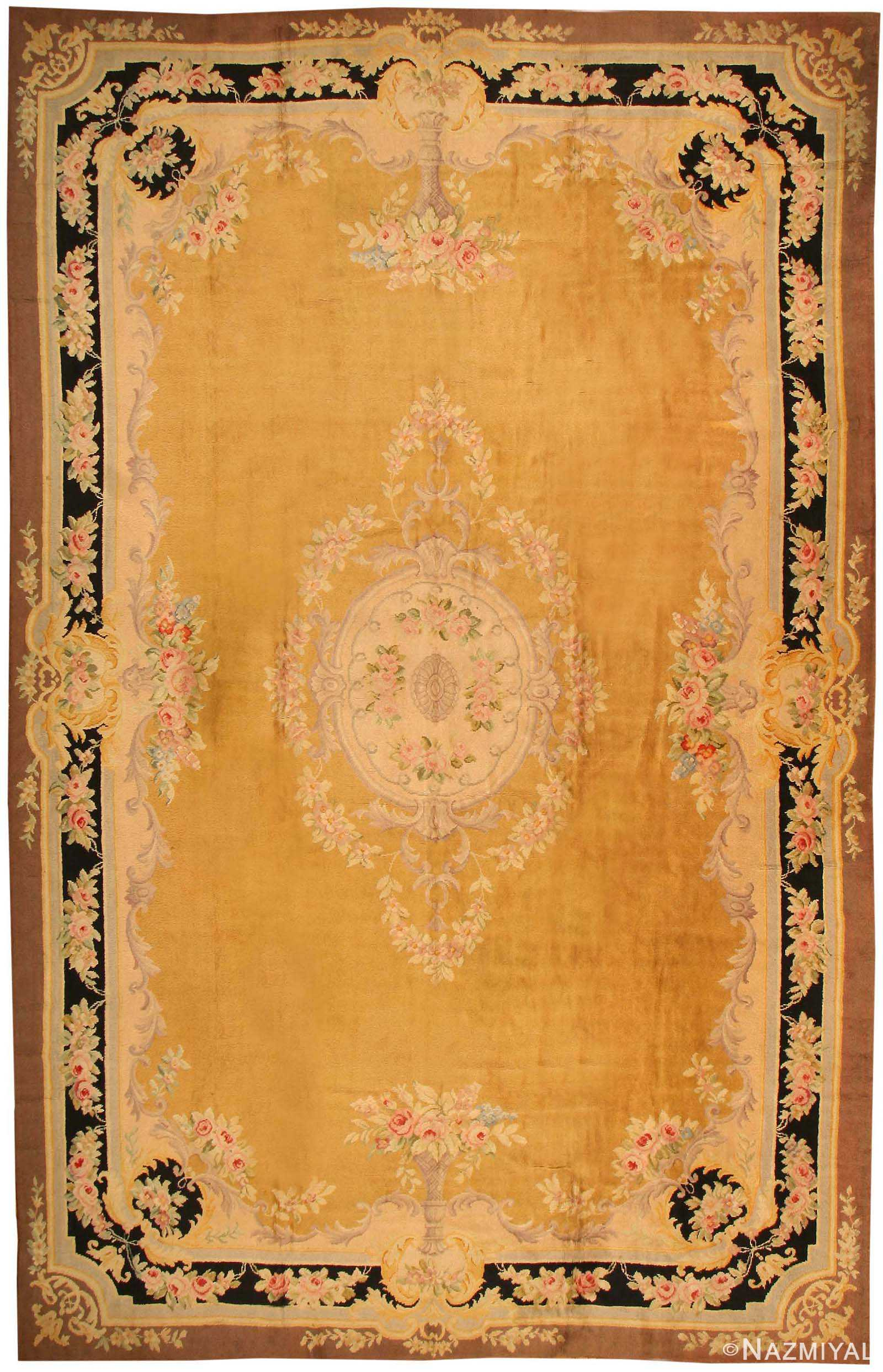 Antique Spanish Rug 43430 Nazmiyal Collection