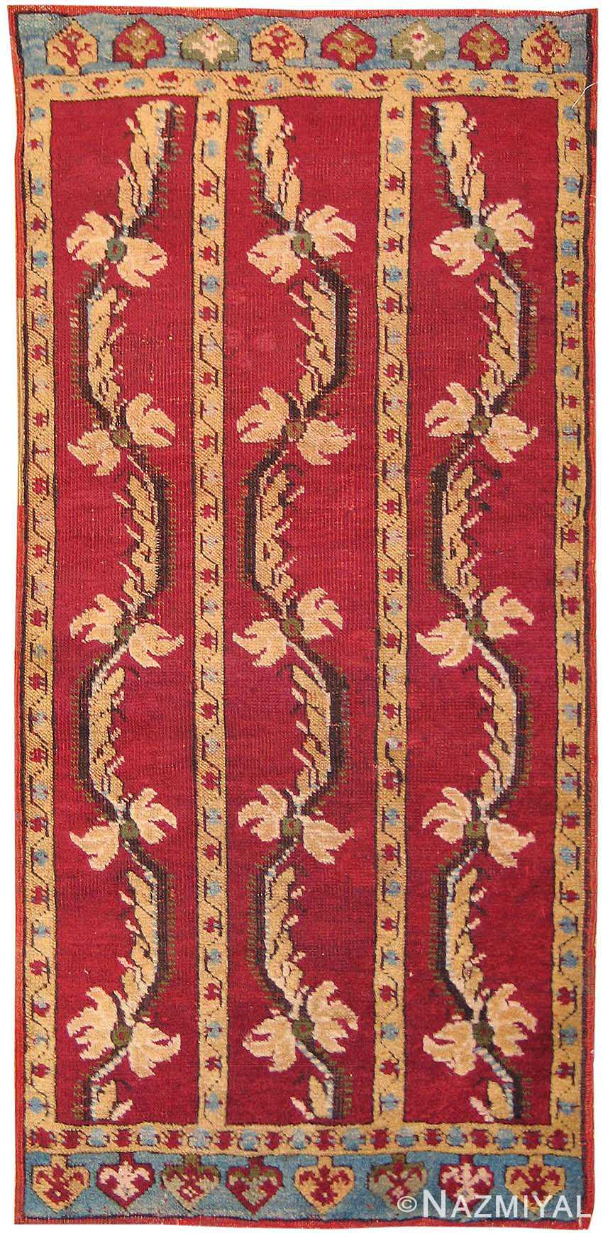 Antique Yastik Turkish Rug 2654 Nazmiyal
