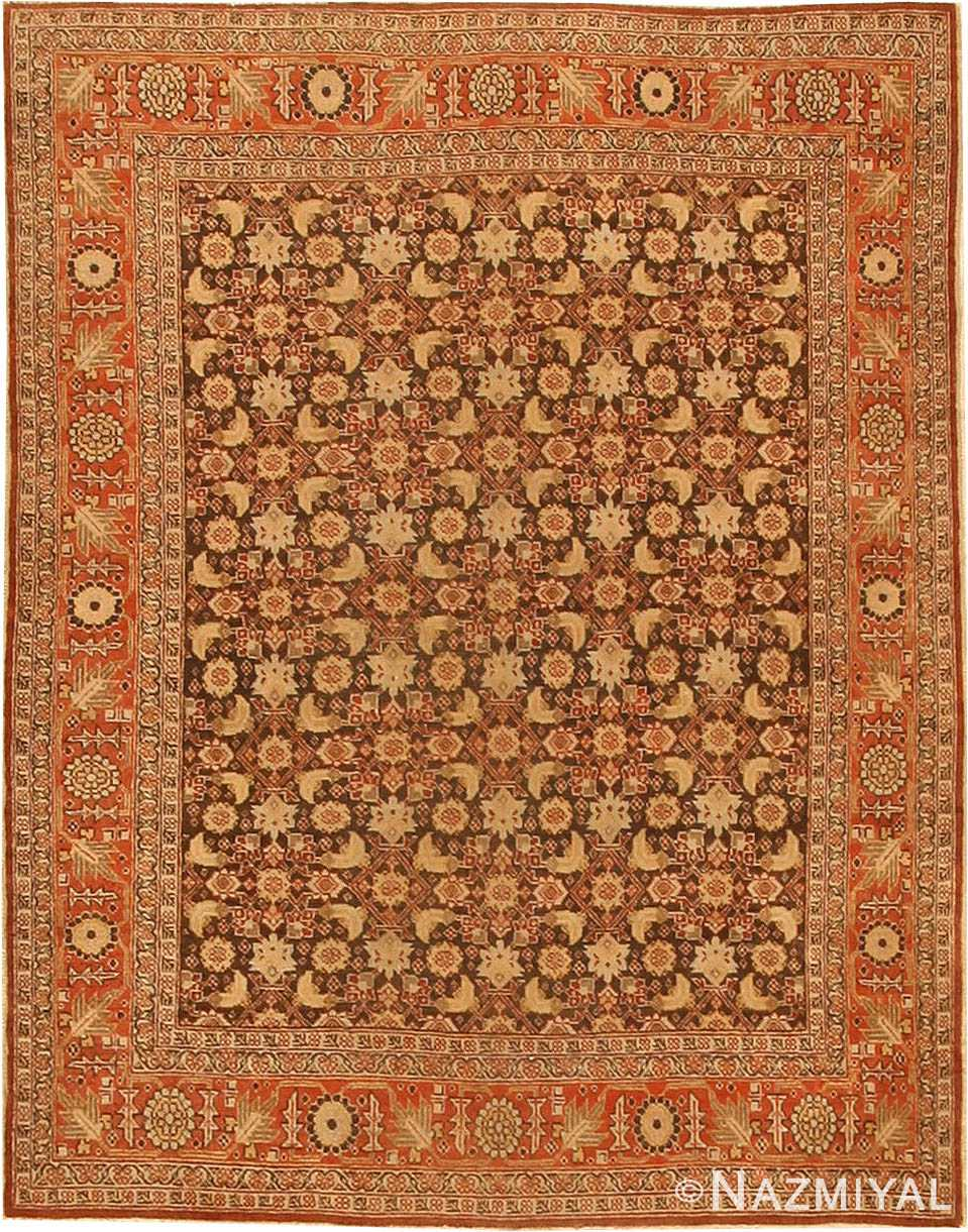 Antique Tabriz Persian Rug 42699 Nazmiyal