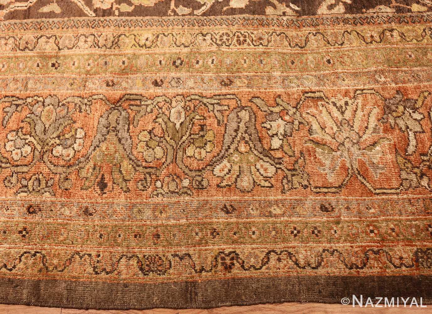 antique sultanabad rug 44653 border Nazmiyal