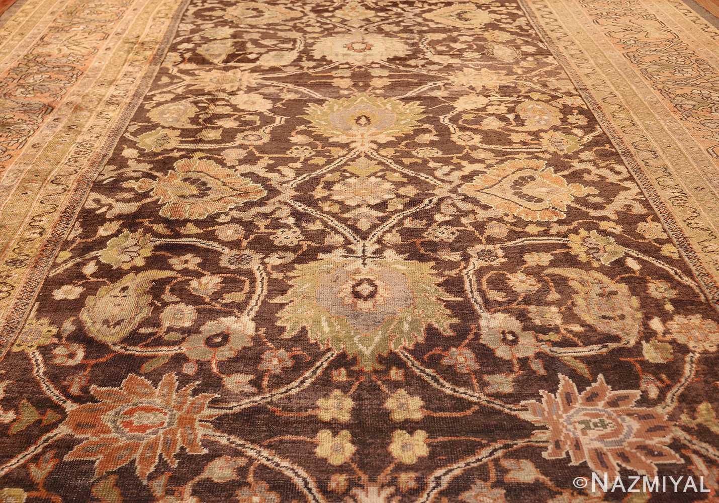antique sultanabad rug 44653 field Nazmiyal
