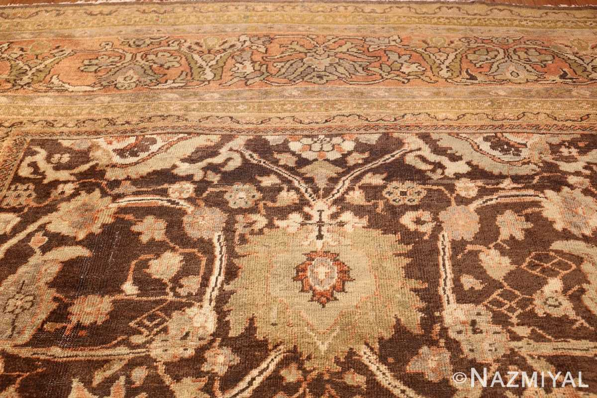 antique sultanabad rug 44653 top Nazmiyal