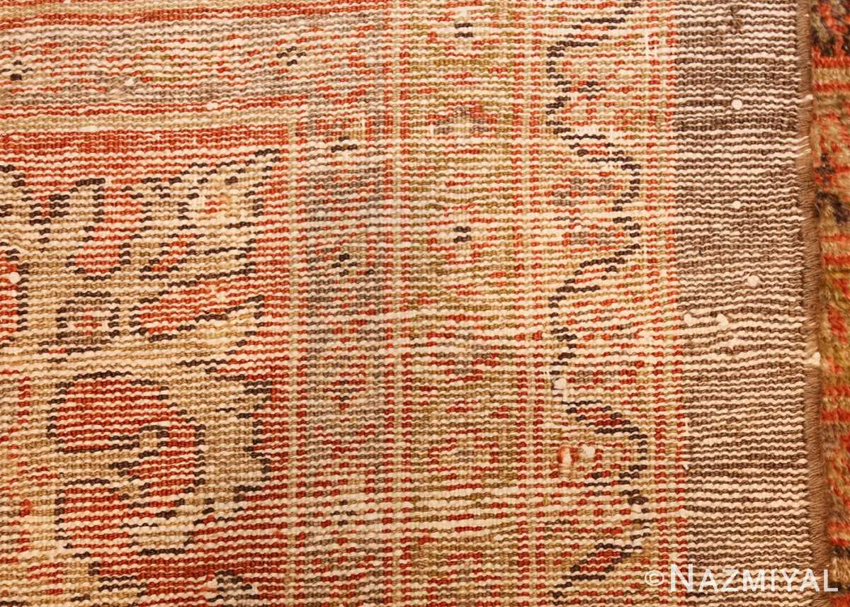 antique sultanabad rug 44653 weave Nazmiyal