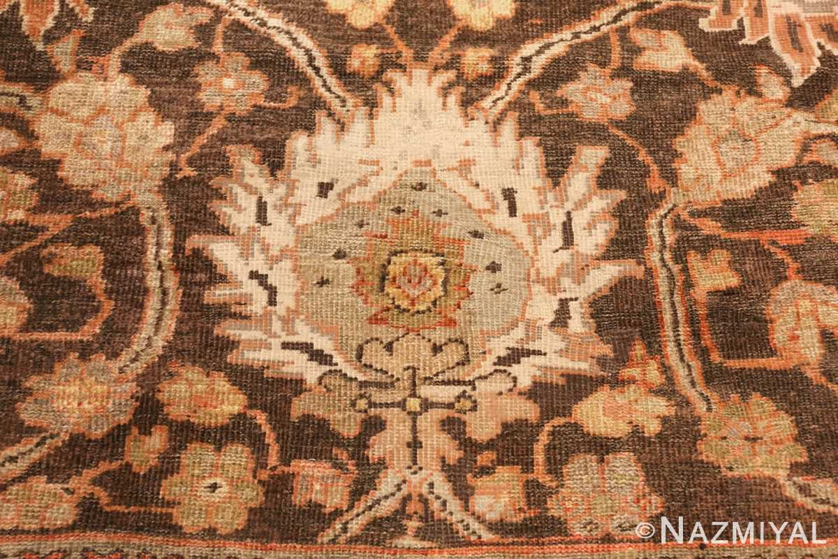 antique sultanabad rug 44653 white Nazmiyal