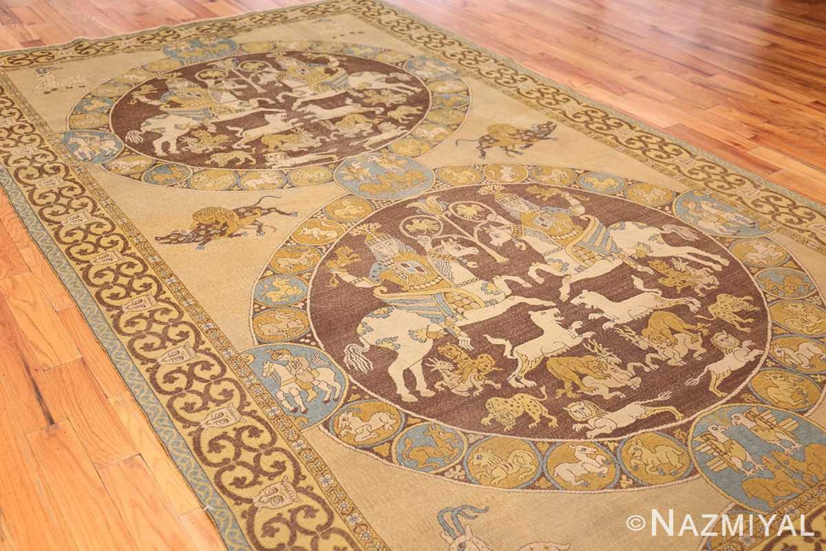 antique turkish tuduc rug 45077 side Nazmiyal