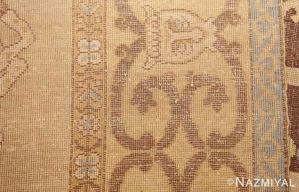 antique turkish tuduc rug 45077 weave Nazmiyal