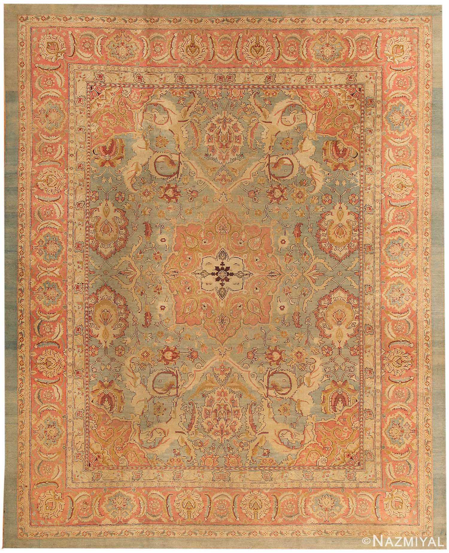 Indian Agra Carpet 43693 By Nazmiyal