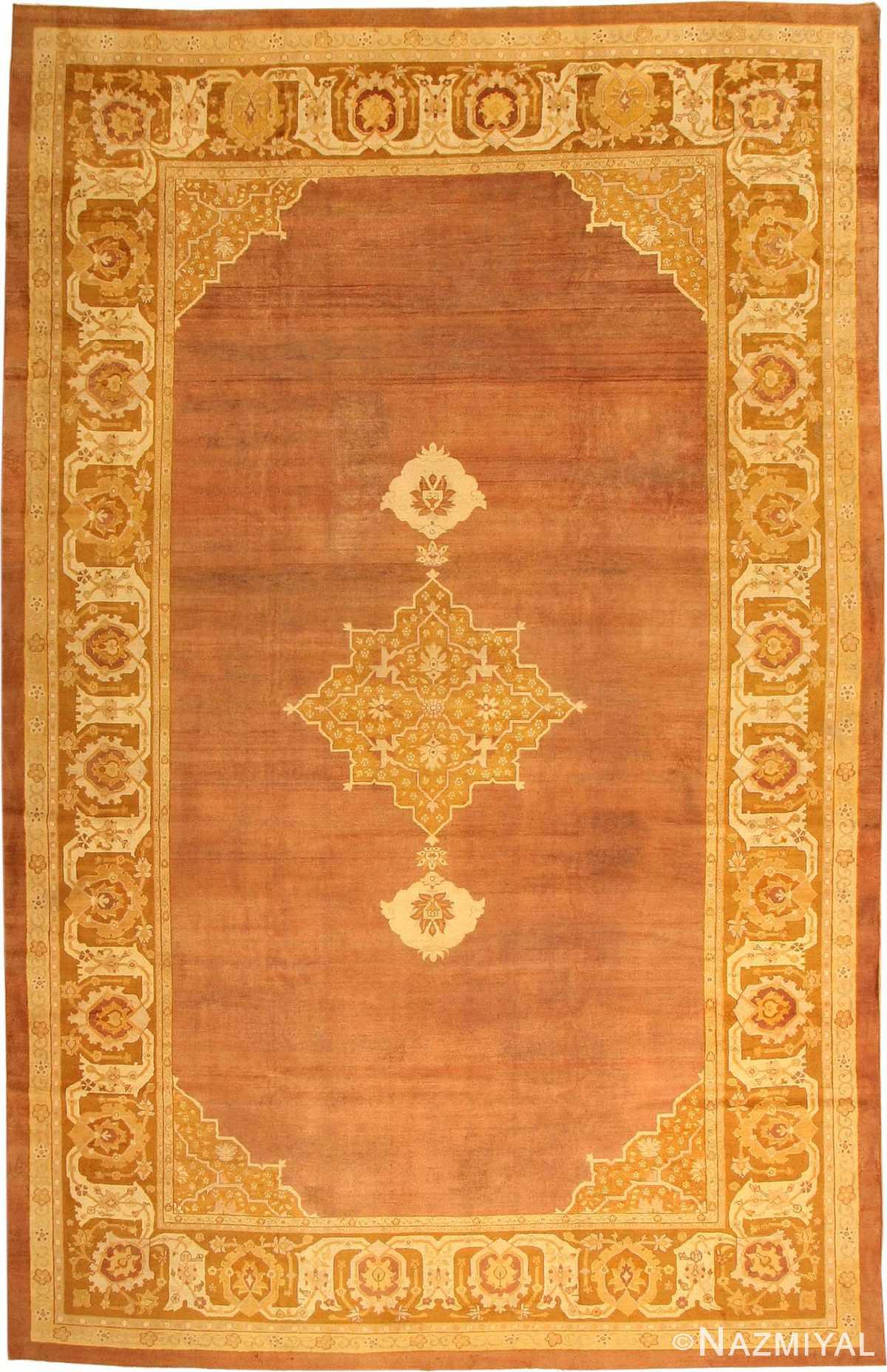 Antique Amritsar Oriental Rug 1950 Nazmiyal