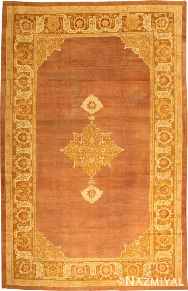 Antique Amritsar Oriental Rug 1950 Nazmiyal