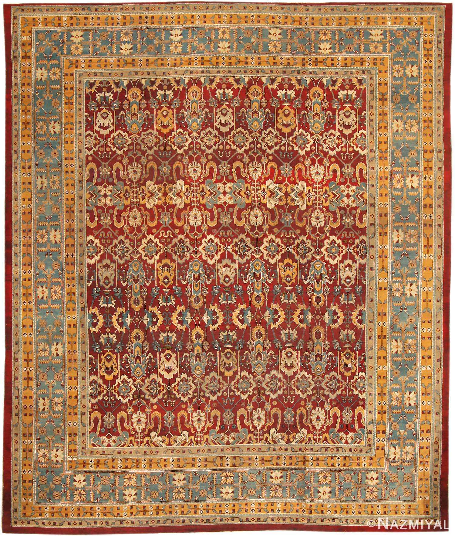 Antique Amritsar Oriental Rug 2670 Nazmiyal