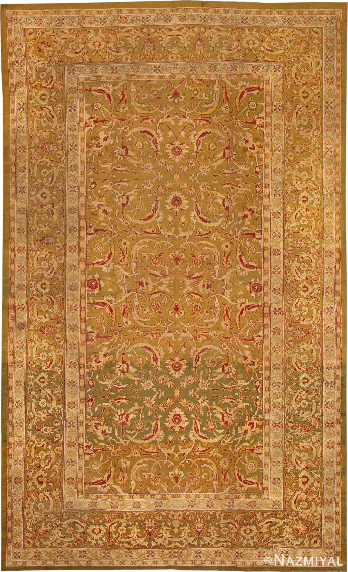Antique Amritsar Oriental Rug 42138 Nazmiyal