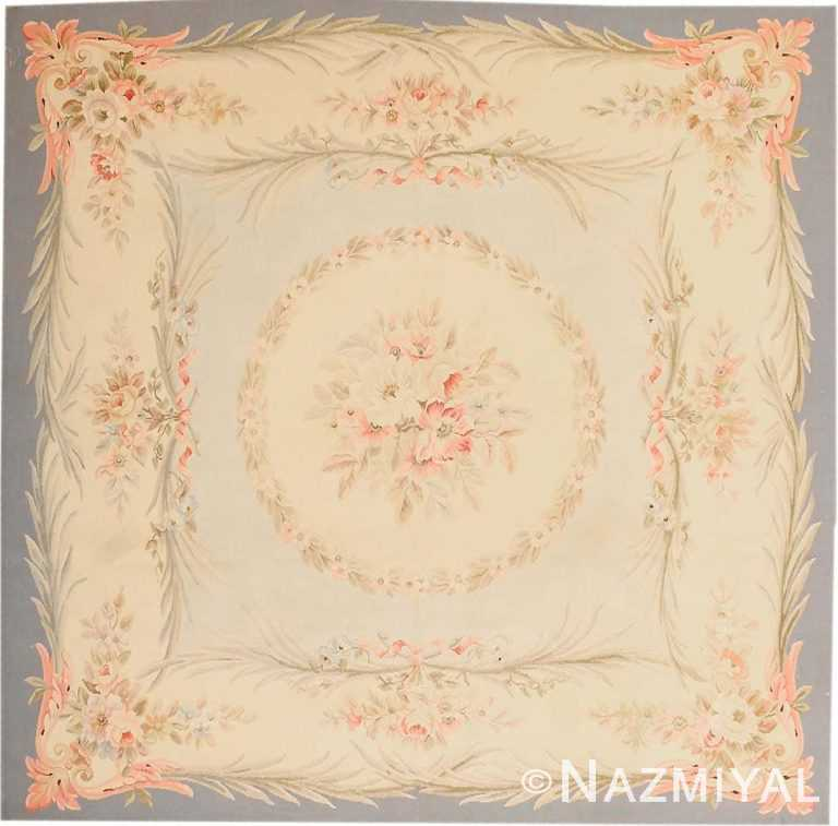 Antique Aubusson French Rug 43796 Nazmiyal