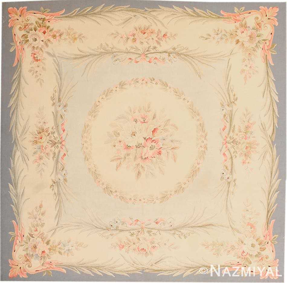 Antique Aubusson Rug 43796