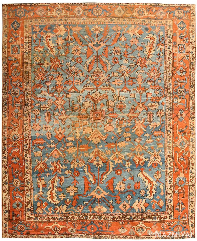 Vintage Persian Rugs: Persian Antique Serapi Rug 43712 By Nazmiyal