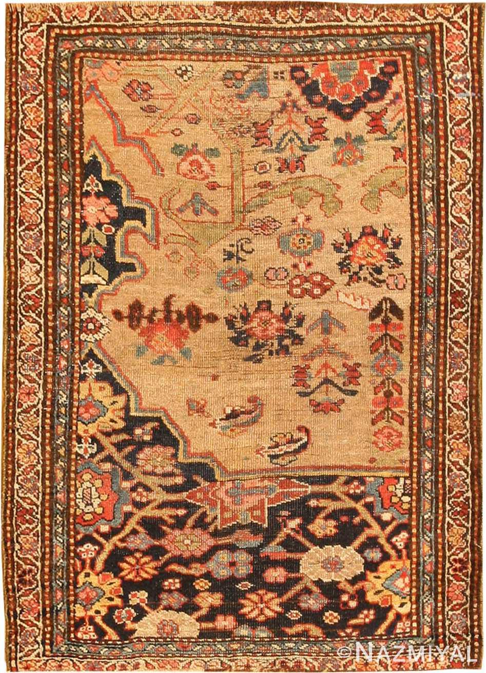 Antique Bidjar Persian Rug 42815 Detail/Large View