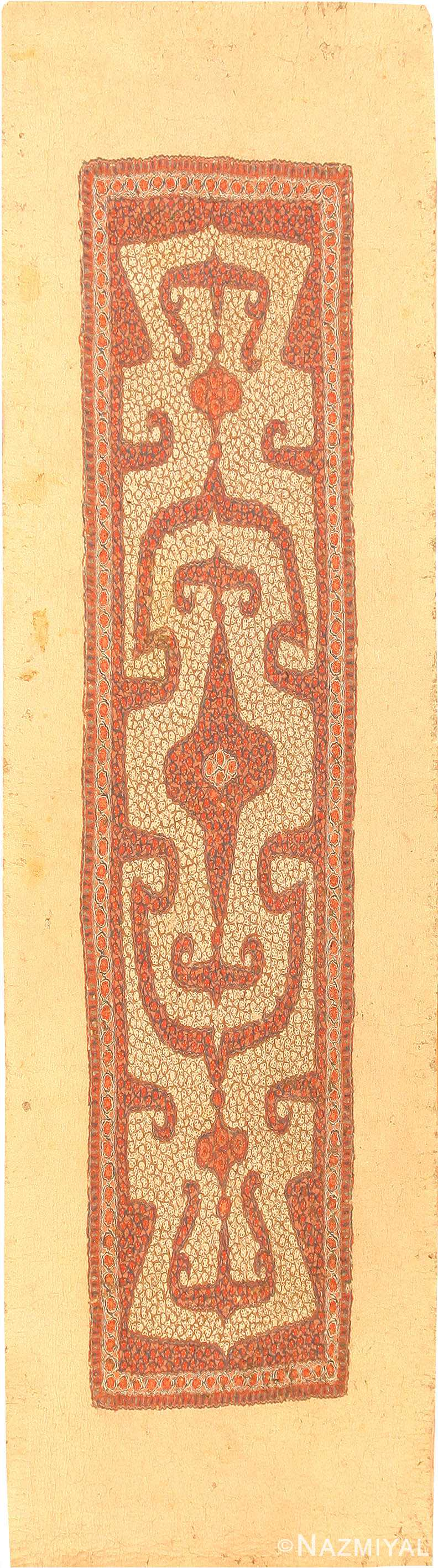 Antique Central Asia Rug 41407 Nazmiyal