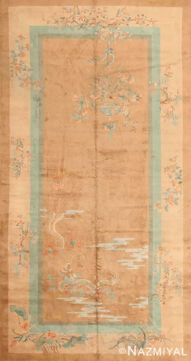 Antique Chinese Deco Oriental Rug 43723 Nazmiyal