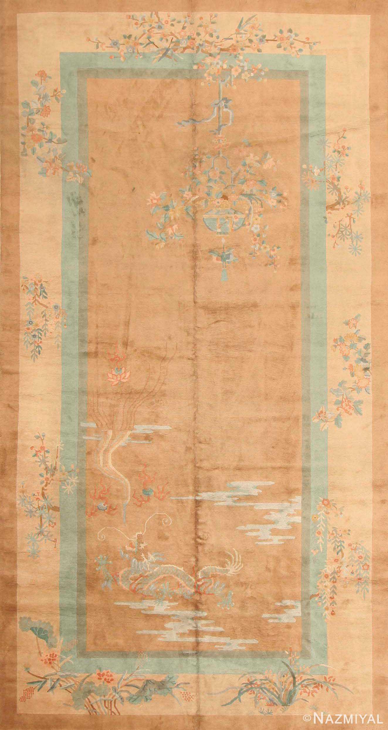 Antique Chinese Deco Oriental Rug 43723 Nazmiyal